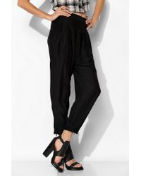 Urban Outfitters - Black Silence Noise Silky Harem Pant - Lyst