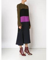 Marni - Black Colour Block Dress - Lyst