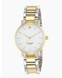 kate spade new york - Metallic Gramercy Watch - Lyst