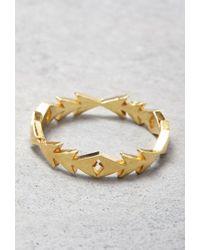 Forever 21 | Metallic Makko Flowing Arrow Ring | Lyst