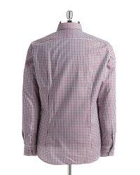 Strellson   Slim Fit Checkered Sportshirt for Men   Lyst