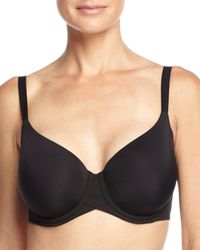 Wacoal | Black Ultimate Side-smoother Contour Bra | Lyst