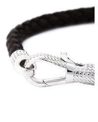 Tateossian - Brown 'Ziggy' Bracelet for Men - Lyst
