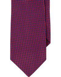 Duchamp - Red Chevronpattern Neck Tie for Men - Lyst