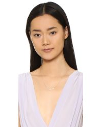 Gorjana - Metallic Cress Shimmer Necklace - Lyst