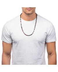 Lulu Frost | Red 'life' Morse Necklace for Men | Lyst