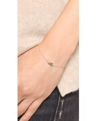 Jennifer Meyer | Metallic Mini Clover Bracelet | Lyst