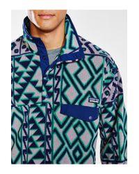 Patagonia - Multicolor Synchilla Snap-t Fleece Pullover Jacket for Men - Lyst
