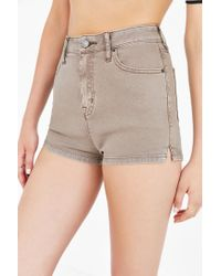 BDG | Brown Katie Short | Lyst