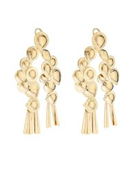 Aurelie Bidermann | Metallic Iroquois Dangling Earrings | Lyst