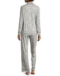 Cosabella - Multicolor Bella Printed Long-sleeve Pajama Set - Lyst