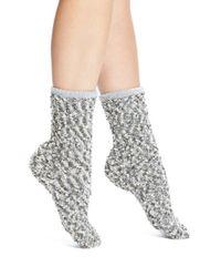 UGG | Gray Ugg Australia Chenille Crew Socks | Lyst