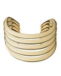 Michael Kors | Metallic Wide Statement Cuff | Lyst