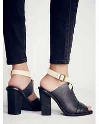 Free People | Blue Florence Heel | Lyst
