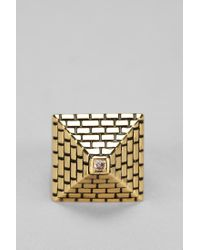 Urban Outfitters - Metallic Han Cholo Pyramid Ring - Lyst