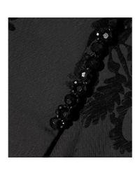Simone Rocha - Black Embellished Jacquard Cape - Lyst