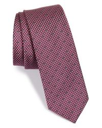 Calibrate | Pink Silk Tie for Men | Lyst
