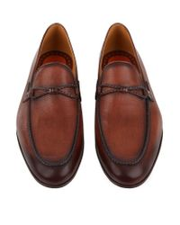 Saks Fifth Avenue - Blue Luca Punch Toe Oxford Shoe for Men - Lyst