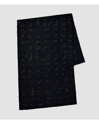 AllSaints - Blue Farley Scarf for Men - Lyst