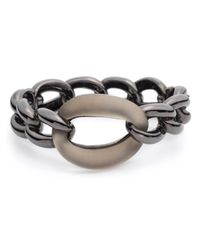 Alexis Bittar - Gray Bohemian Frozen Link Hinge Bracelet You Might Also Like - Lyst