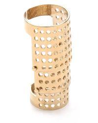 Kelly Wearstler | Metallic Bastion Ring | Lyst