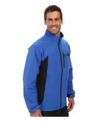 The North Face - Blue Pneumatic Jacket - Lyst