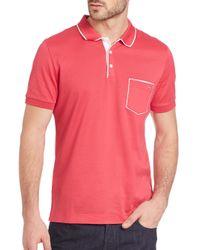 Ferragamo - Pink Pocket Polo for Men - Lyst