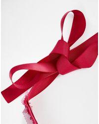 ASOS - Purple Sequin Choker Necklace - Lyst