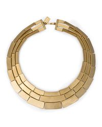 Kelly Wearstler | Metallic Medina 3 Row Necklace | Lyst