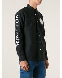 Soulland - Black 'Lyderik' Shirt for Men - Lyst