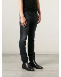 DIESEL - Blue Loose Fit Jeans for Men - Lyst