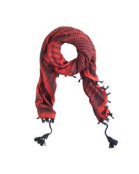 J.Crew | Red Fireside Plaid Scarf | Lyst
