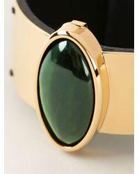 Marni - Black Goldtone Hardware Cuff - Lyst