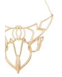 Oasis | Metallic Deco Necklace | Lyst