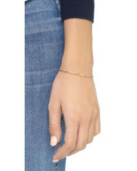 Jennifer Zeuner | Metallic Mini Hamsa Diamond Bracelet | Lyst