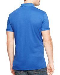 Polo Ralph Lauren | Blue Pima Polo Shirt for Men | Lyst