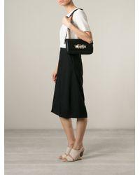 Fendi - Black '3baguette' Shoulder Bag - Lyst