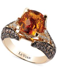 Le Vian | Metallic Citrine (2-3/8 Ct. T.w.) And Diamond (1-1/5 Ct. T.w.) Ring In 14k Gold | Lyst