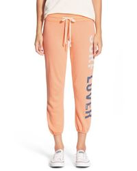 Rip Curl | Orange 'surf Lover' Pants | Lyst