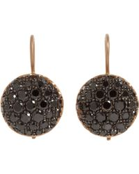 Roberto Marroni - Black Baby Sand Drop Earrings - Lyst