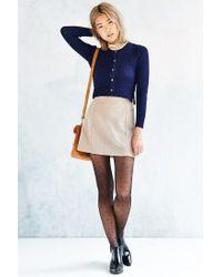 Kimchi Blue | Blue Cara Mini Cardigan | Lyst