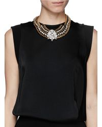Venessa Arizaga | Metallic 'dance Hall Days' Necklace | Lyst
