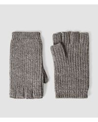 AllSaints | Gray Spinn Gloves for Men | Lyst