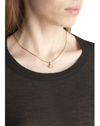 Vivienne Westwood - Gray Gold Plated Orb Necklace - Lyst