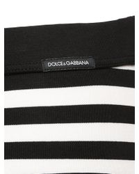 Dolce & Gabbana | Black Brando Striped Stretch Jersey Briefs | Lyst