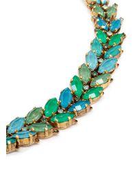Aerin | Green X Erickson Beamon Crystal Vine Bracelet | Lyst