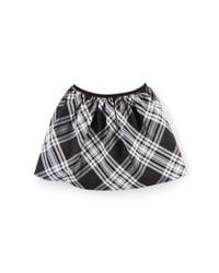 Ralph Lauren | Natural Plaid Taffeta Pull-on Skirt | Lyst