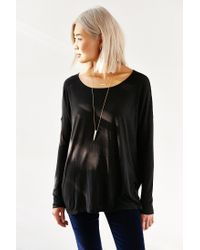 Project Social T - Black Tyler Dolman Top - Lyst