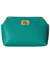 Lauren by Ralph Lauren | Green Acadia New Cosmetic Case | Lyst