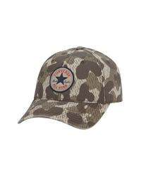 Converse | Natural 'core' Twill Ball Cap for Men | Lyst